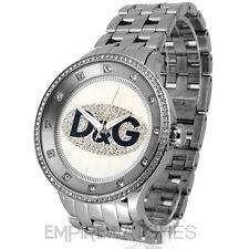 * Nuovo * Dolce & Gabbana Uomo D&G Prime Time Orologio-dw0131-RRP £ 200