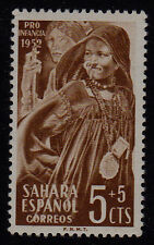 SPANISH SAHARA SCOTT#B19 MNH CHILD WELFARE