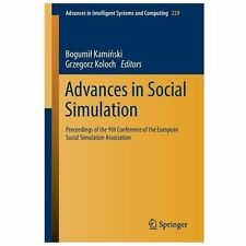 Advances in Intelligent Systems and Computing: Advances in Social Simulation...