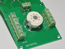 7 Pin Tube sockets Experiment boards x4 for tube project diy prototype test bott