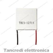 Cella Peltier 231W TEC1-12715 12V 15A raffreddamento CPU cooler frigo 12715