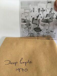 Deep Purple.  1969.  2x2 Vintage Original Negative .