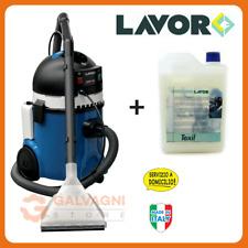 LAVOR GBP 20 + 2 lt detergente Texil Lavamoquette Lavatappeti Lava sedili auto