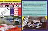 ANEXO DECAL 1/43 VOLKSWAGEN POLO R WRC S.OGIER R.POLAND 2014 WINNER (04)
