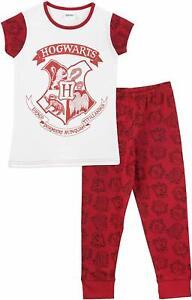 Brand New Character UK Harry Potter Hogwarts Pyjamas Set Sizes 4 Years-13 Years