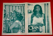 OTALIA DE BAHIA 1976 MARCEL CAMUS MIRA FONSECA MARIA VIANA EXYU MOVIE PROGRAM