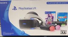 Genuine PlayStation VR (PSVR) Headset Bundle (CUH-ZVR2) for PS4 - READ - UD