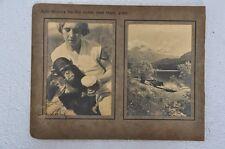 Vintage Agfa - Brovira No.123 & 133 B & W Photographs , Collectible