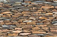 Ardoise stonewall papier peint-xxl la fresque exclusive ardoise mur