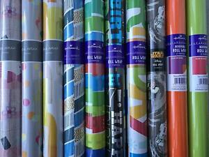 Hallmark Mixed Roll Wrap Pack -10 Rolls rapping Paper-Male/Female/Children's Mix