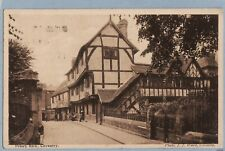 VINTAGE POSTCARD -  PRIORY ROW COVENTRY WARWICKSHIRE - RP - Posted 1924