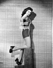 JANE ADAMS House of Dracula BRUTE MAN Star SEXY PHOTO Leggy Western Cowgirl RARE