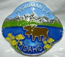 Harriman State Park Idaho new badge mount stocknagel hiking medallion G0229