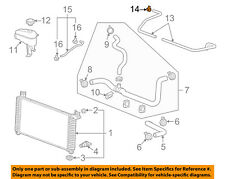 GM OEM Radiator-Inlet Upper Hose Clamp 90530642