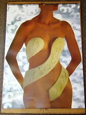 CLASSIC COLLECTIBLE VINTAGE PIRELLI PIN UP CALENDAR 1993