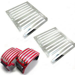 All Metal Fender Decoration Strip Plate for 1/14 Scania RC Tractor Truck Car