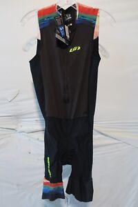 Louis Garneau Pro Carbon Triathlon Suit Men's Medium Expressionist Retail $145