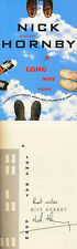 Nick Hornby SIGNED AUTOGRAPHED A Long Way Down *VERY RARE* HC 1st Ed/1st Print