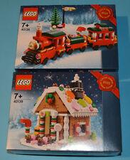 LEGO Natale 2015 Set in edizione limitata-TRENO 40138 & 40139 GINGERBREAD HOUSE