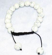 New! Men's hand-woven bracelet all 10mm Multicolor Gemstone Gems Round beads