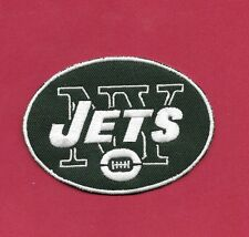 """New York Jets  Oval 2 1/2 X 3  """" Iron on Patch Free Shipping"""