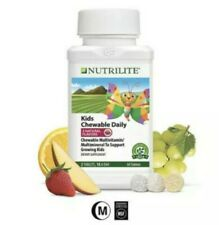 NUTRILITE Kids Multi-Vitamin Mineral Chewable Daily, 60 Tablets in Sealed Bottle