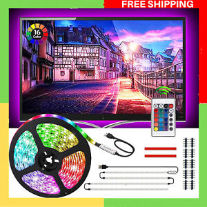 "LED Strip Behind TV LED Lighting 2m LED Light Strip USB TV Backlight for 40-60"""