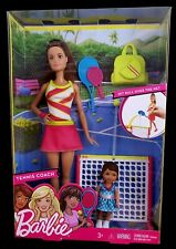 Barbie Careers Tennis Coach Playset with Student