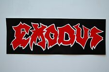 Exodus Sticker Decal (472) Punk Metal Excel Anthrax Car Window Bumper