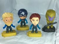2019 McDonalds Happy Meal Marvel Avengers End Game Movie Toys Lot Set Of 4