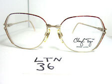 Nos 1980s CHERYL TIEGS Eyeglass Frame by Welling Eyewear Red Gold CT92 (LTN-36)