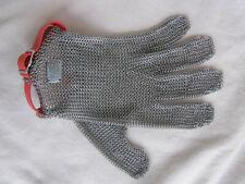 Euroflex HC 152 Kettenhandschuh Stechschutzhandschuh Comfort. Gr. M (Rotes Band)