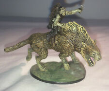 Figurine Collection Eaglemoss Seigneur des anneaux Cavalier Warg Lord of Rings