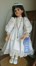 """Vera Scholz mold Malena Bisque? Doll Posable 24"""" tall 1999 Excellent!"""