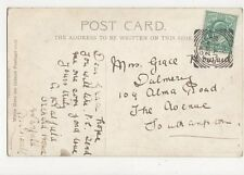 Miss Grace Howard Dalmeny Alma Road The Avenue Southampton 1904  304a