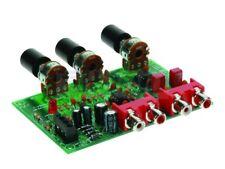 Velleman K8084 Kit de preamplificador de volumen y tono