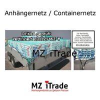 Ladungssicherungsnetz Anhängernetz Knotenl Dekra geprüft 225x365 2,25x 3,65 45 6