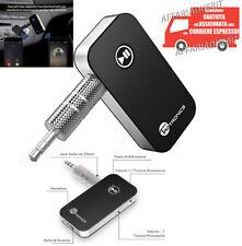 kit vivavoce bluetooth auto v4.0 aux microfono uscita audio musica samsung