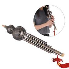 Hulusi Cucurbit Gourd Flute Woodwind Musical Instrument C Key for Beginner Y0S7