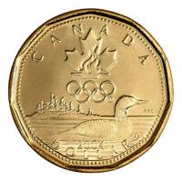 1 Dollar Canada Coin $1 Olympic Lucky Loonie 2004