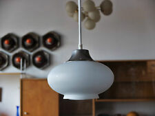 1 Piece Light True Vintage Space age ceiling lamp 70er 1 Glass Shade Opal Lamp