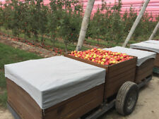 Pallet Fruit-Bin Covers; 90% Density Grey Shade-cloth, Fabricated; Single Cover