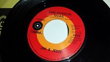 JIM & JESSE I'll Always Be Waiting / San Quentin Quail CAPITOL 3099 COUNTRY 45