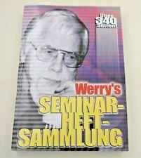 Werry´s Seminarheft-Sammlung,  340 Seiten voller Trickbeschreibungen + Seminare