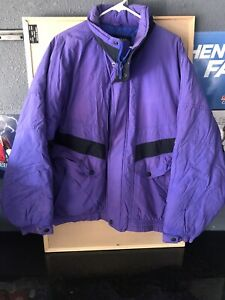 Vintage puffy pacific trail winter jacket