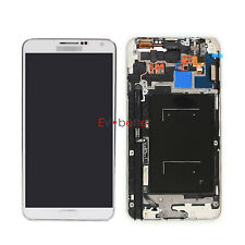 White For Samsung Note 3 Ⅲ N900T T-Mobile LCD Touch Screen Digitizer + Frame