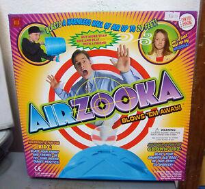 AIRZOOKA, new in box, blasts harmless ball of air 20 feet! fun toy for air tag