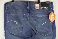 Mens G STAR Jeans MORRIS LOW STRAIGHT Button Fly DENIMS W38 L34 RRP £155  P4