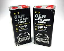 10L 5W30 504.00/507.00 AUDI VW SPEC LONGLIFE FULLY SYNTHETIC ENGINE OIL