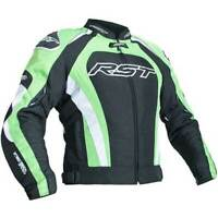 RST Tractech Evo 3 CE Green Moto Motorbike Textile Sports Jacket | All Sizes
